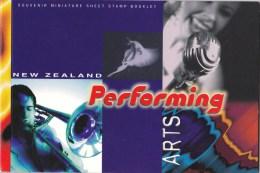 New Zealand 1998 Performing Arts Prestige Mint Booklet - Booklets