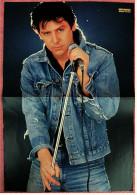 Kleines Poster  -  Shakin Stevens  -  Von Bravo Ca. 1982 - Plakate & Poster