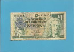 SCOTLAND - UNITED KINGDOM - 1 POUND - 08.12.1992 - P 356 - COMMEMORATIVE - THE ROYAL BANK OF SCOTLAND PLC - [ 3] Scotland