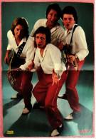 Kleines Musik Poster  -  Gruppe Racey -  Von Pop-Rocky Ca. 1982 - Plakate & Poster