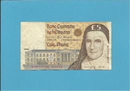 IRELAND ★ 5 POUNDS ★ 22.10.96 ★ P 75b ★ CATHERINE Mc AULEY - Irlanda