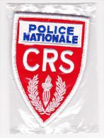 Ecusson Police -- CRS / Petit Modèle -- Neuf - Police & Gendarmerie