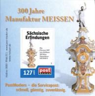 """Post Modern Block """"300 Jahre Porzellanmanufaktur Meissen"""" - [7] Federal Republic"""