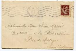 SEINE MARITIME De LE HAVRE Sur Env. Du 29/05/1945 Flamme N°LE HA 135 - Marcophilie (Lettres)