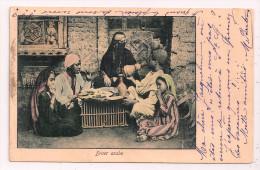 Egypte - Diner Arabe - Carte Précurseur - Animée - Femme Voilée - 2 Scans - - Sin Clasificación
