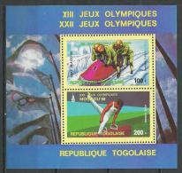 "Togo Bloc YT 134 "" JO à Lake Placid Et Moscou "" 1979 Neuf** - Togo (1960-...)"