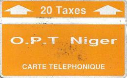 NIGER 20 U ORANDE & WHITE LOGO 2ND ISSUE L & G CODE: NGR-06a CP:404C READ DESCRIPTION   ! - Niger