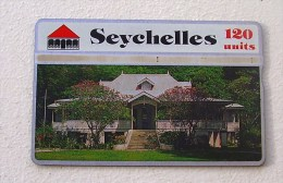 Télécarte Seychelles 120 Unites - Seychelles