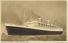 "HOLLAND-AMERICA LINE  SS ""NIEUW AMSTERDAM"" - Steamers"