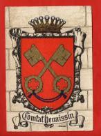 1281 - VAUCLUSE -  Comtat Venaissin - Blason, Ecusson - Barré-Dayez   (recto-verso) - Non Classificati