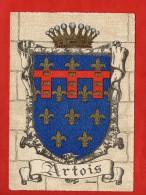 1283 - ARTOIS  -   Blason, Ecusson - Barré-Dayez   (recto-verso) - Francia