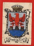 1284 - Comté De Nice  -   Blason, Ecusson - Barré-Dayez   (recto-verso) - Non Classificati