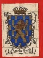 1285 - Franche Comté   -   Blason, Ecusson - Barré-Dayez   (recto-verso) - Franche-Comté