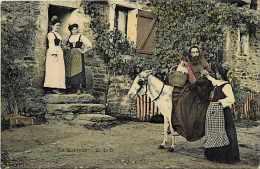 Themes Div- Ref G364- A La Campagne - Le Queteur  - Carte Bon Etat  - - Folklore