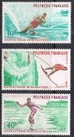 POLYNESIE N°86 A 88 N** - Polinesia Francese