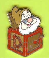 Pin Disney Nain Prof Boîte Musicale (Blanche Neige Et Les 7 Nains) - 4U08 - Disney