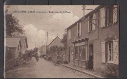 19 - Lamazière-Basse - L'Avenue De La Poste - Corrèze - RARE ! - Other Municipalities