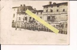 Alsace Vallée De La Fecht Revue Des Troupes Par Le Kronprinz Dos Carte  Photo All   WWI Ww1 14-18 1.wk 1914-1918 Poilus - Guerre, Militaire