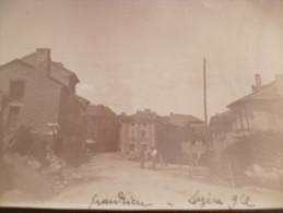 Photo Ancienne  11 X 8,5 Surement 19ème. Lozère Grandrieu. Identifièe - Luoghi