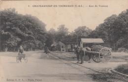 CHATEAUNEUF EN THIMERAIS GARE DU TRAMWAY - France