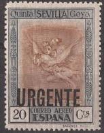 ES530-LA106TVÑF.Spain.Esp Agne.PINTURA.Aguafuertes  De GOYA  1930 (Ed 530*) Nuevo, Con Charnela - Viñetas De Fantasía