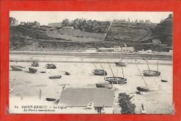 Saint Brieuc Le Port à Marée Basse  N°65 - Saint-Brieuc