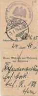 Westpreussische Infanterie / Einzahlungsabschnitt THORN - Besetzungen 1914-18