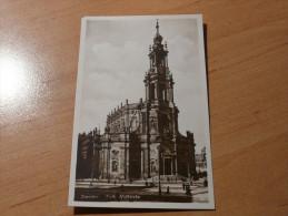 Dresden Kath. Hofkirche Deutschland Germany - Dresden