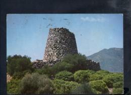 L1377 Sardegna - Nuraghe S' Oro - Timbro A Targa Storia Postale: Manifestate Le Vostre Intenzioni 1968 - Italie