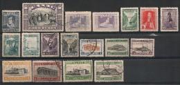 Grèce. 1924-1927. Entre N° 345 Et 361. Oblit. Et Neuf * MH - Usati