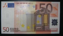 50 EURO M053E5 DRAGHI Spain  Serie V  UNCIRCULATED - EURO