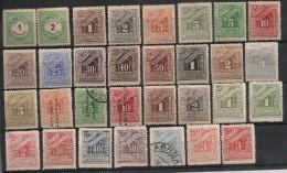 Grèce. Taxe. 1875-1913. Entre N° 1 Et 78.  Oblit. Et Neuf * MH - Other