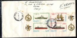 ITALIA -  1978 - COSTRUZIONI NAVALI ITALIANE - 2^ EMISSIONE - 1971-80: Marcophilia