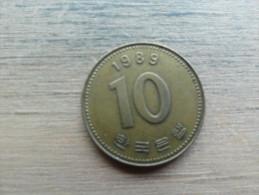Koree Du Sud  10 Won  1989  Km33 1 - Korea, South