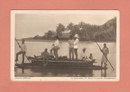 * CPA..( Nouvelle Calédonie )..Le Missionnaire Ph Delord En Tournée D´évangélisation : Voir Les 2 Scans - Missions