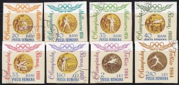 Romania 1964 Olympic Games - Romanian Gold Medals, Imperforated, Used (o) - 1948-.... Républiques