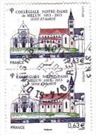 FRANCE 2013 Notre Dame Melun De Bretagne Oblitéré Saint Denis La Réunion - 1961-....