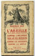 Assurance L'Abeille ; Agenda 1913. - Calendriers