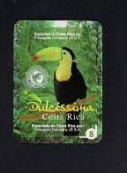 # PINEAPPLE DULCISSIMA COSTA RICA Fruit Tag Balise Etiqueta Anhanger Ananas Pina Toucan Tukan Toekan Tucano - Fruits & Vegetables