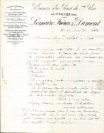 26.DROME.ST.UZE.FONDERIE & MANUFACTURE  DE PIECES MECANIQUES.USINES DU PONT DE ST.UZE.LEMAIRE & DUMONT. - France