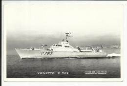 """Vedette """" P 762 """" , Carte Photo - Guerre"""
