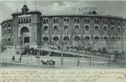 RARE BARCELONA   AVEC CACHET COLLECTIONNEUR A.P.N.  N°1000  ELISA CALVET CASPE 52 LAS ARENAS - Barcelona