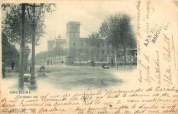 RARE BARCELONA  AVEC CACHET COLLECTIONNEUR A.P.N.  N°1000  ELISA CALVET CASPE 52 GRAN VIA - Barcelona