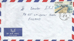 Gambia 1986 Basse Groundnut River Train Transport Cover - Gambia (1965-...)