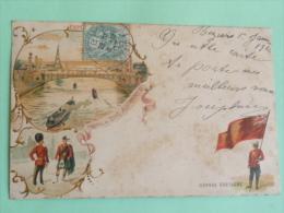 Exposition Universelle - Profil Du Pont Alexandre III - Ausstellungen