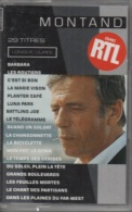 K7 Audio.Yves MONTAND. 29 Titres - LONGUE DUREE. MONTAND Avec RTL - Cassettes Audio