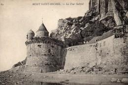 Mont Saint Michel, La Tour Gabriel, N°69 - Le Mont Saint Michel
