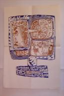 Affiche Expostion Galerie St Vincent, Lyon - Manifesti