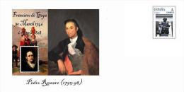 Spain 2014 - Francisco De Goya (Spain) - Special  Cover - Zonder Classificatie