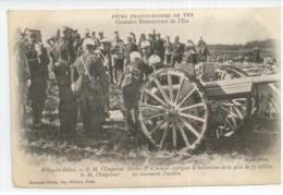 Militaria - Fêtes Franco Russes De 1901 - Grandes Manoeuvres De L´Est - Witry Les Bains - Nicolas II - Militaria